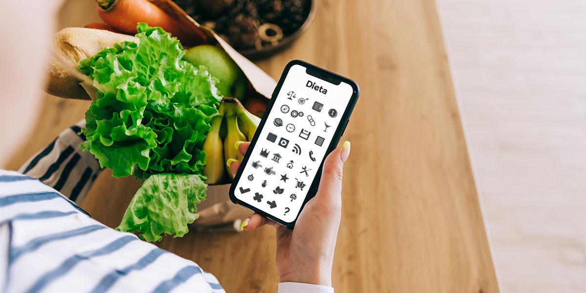 Dieta-symbols in phone
