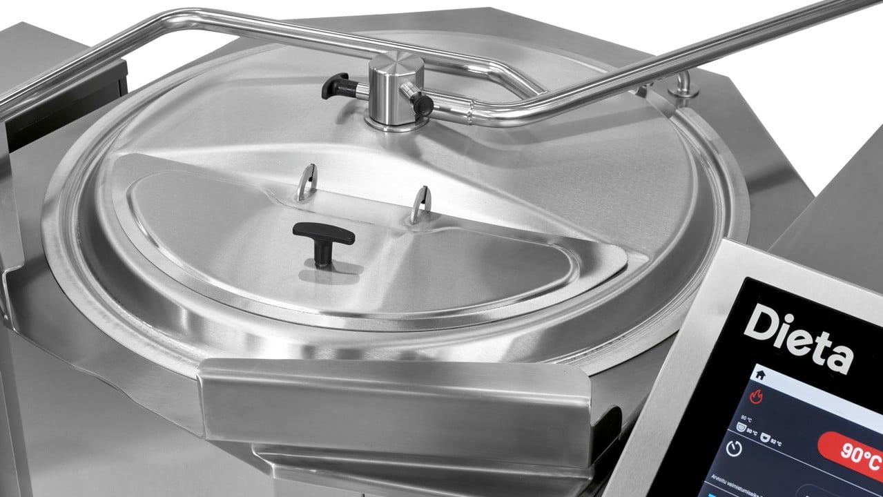 Dieta Mixer Kettle amanges its own maintenance